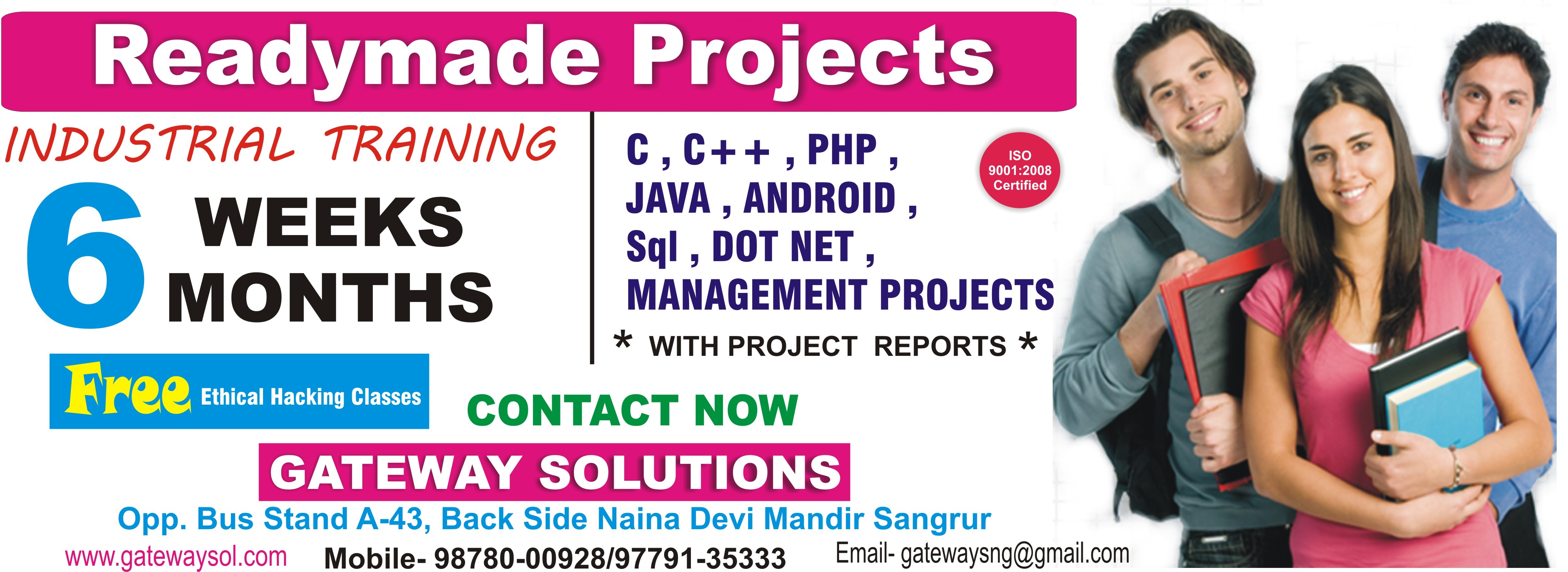 PROJECTS AVAILABLE